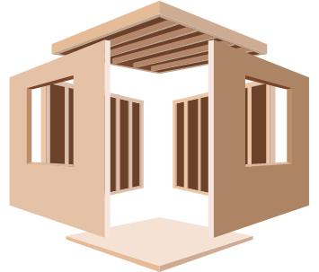 強くて丈夫!ツーバイフォー〈木造枠組壁構法〉