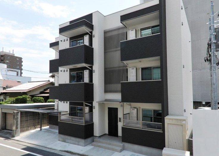 【木造アパート】9部屋 ツーバイフォー工法(木三共)3階建てアパート