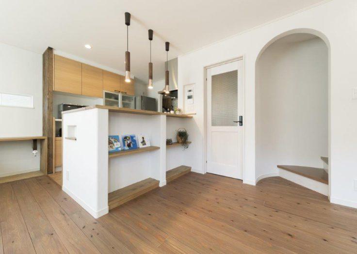 キッチンとR壁