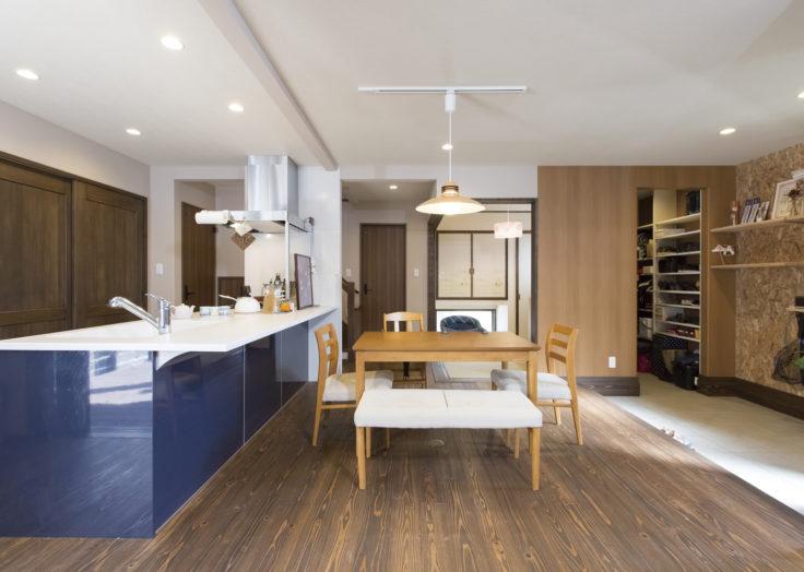 マリモハウスの施工事例「アースフロアとウッドデッキがある家」〜T様邸 その2〜