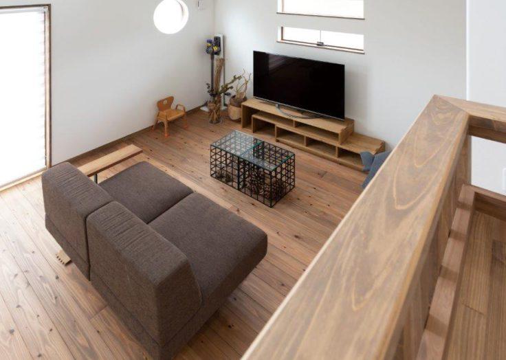 【注文住宅】快適に住む回遊動線と自然素材の家