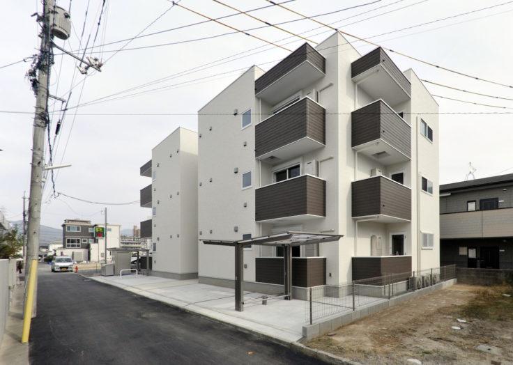 マリモハウスでは「木造3階建てアパート」も建てています!|広島の2×4新築注文住宅&リフォームなら マリモハウス
