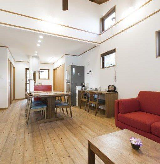 施工事例「光と風を感じ、両親との会話を慈しむ家」〜K様邸〜|広島の2×4新築注文住宅&リフォームなら マリモハウス
