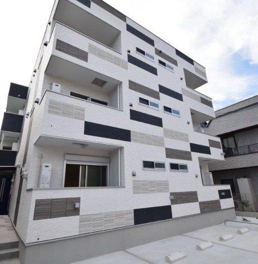 〜施工事例〜 3階建て、女性向けの木造アパート|広島の2×4新築注文住宅&リフォームならマリモハウス