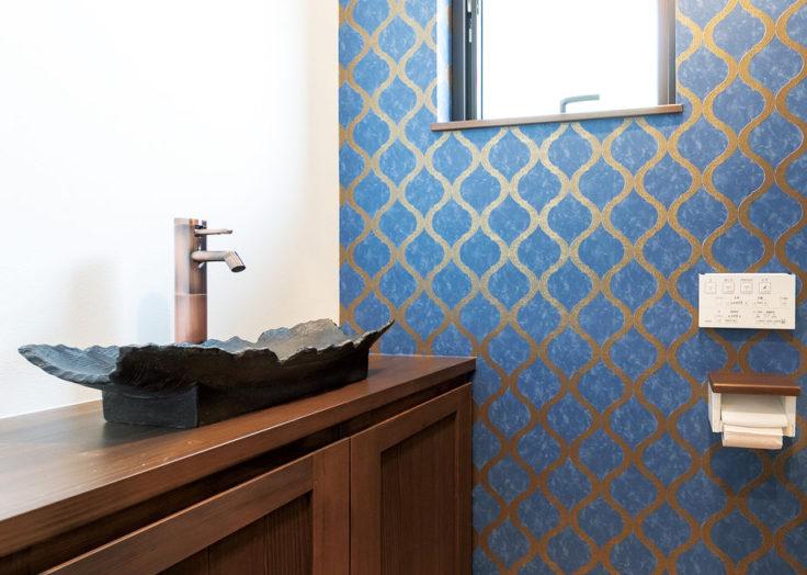 ちょっと遊びゴコロを取り入れた「トイレ」空間 広島の注文住宅 新築 リフォーム