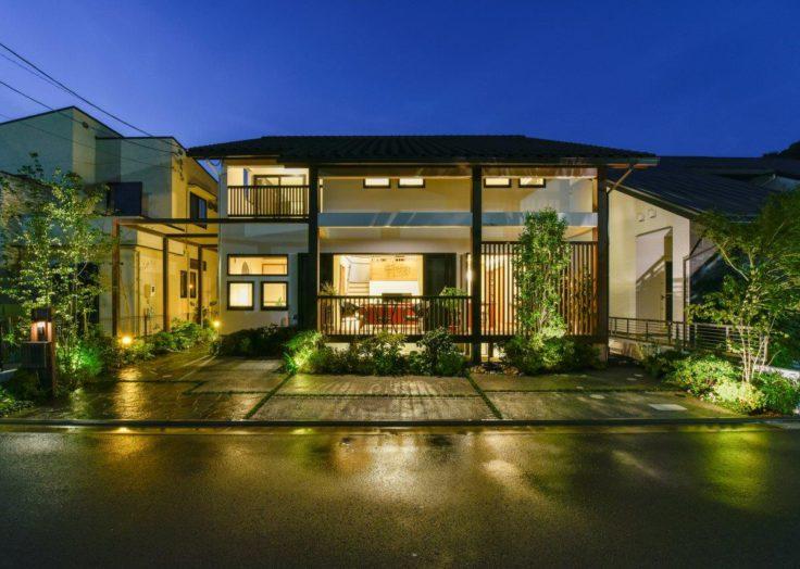 マリモハウスの住まい、外観デザインにも個性があります|広島の2×4新築注文住宅&リフォームなマリモハウス