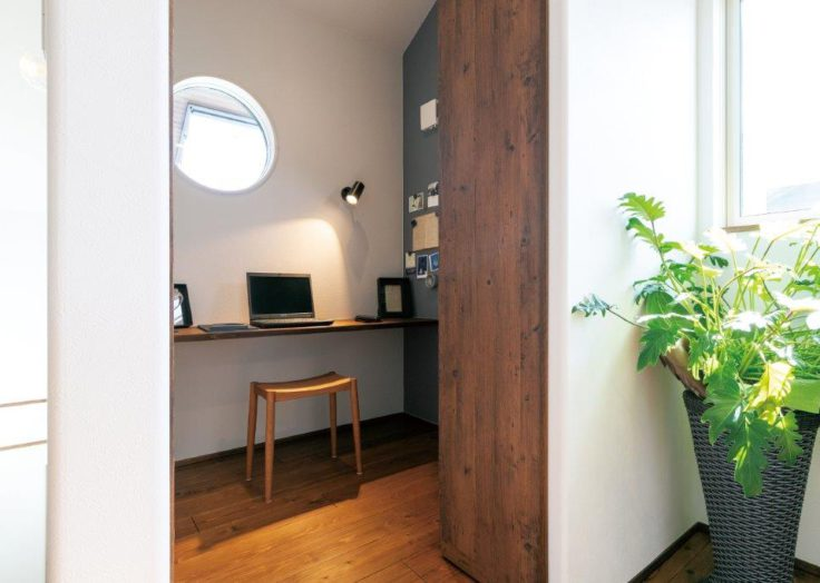 住まいにも必要性が高まる「ワークスペース」「書斎」|広島の注文住宅|新築|工務店