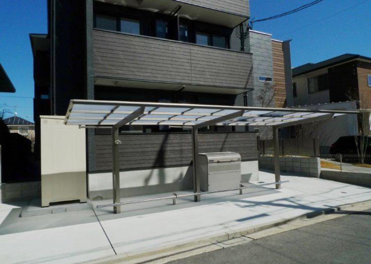 【木造アパート】1DK12部屋の3階建て 木三共