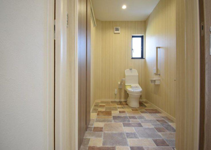 2WAYのトイレ