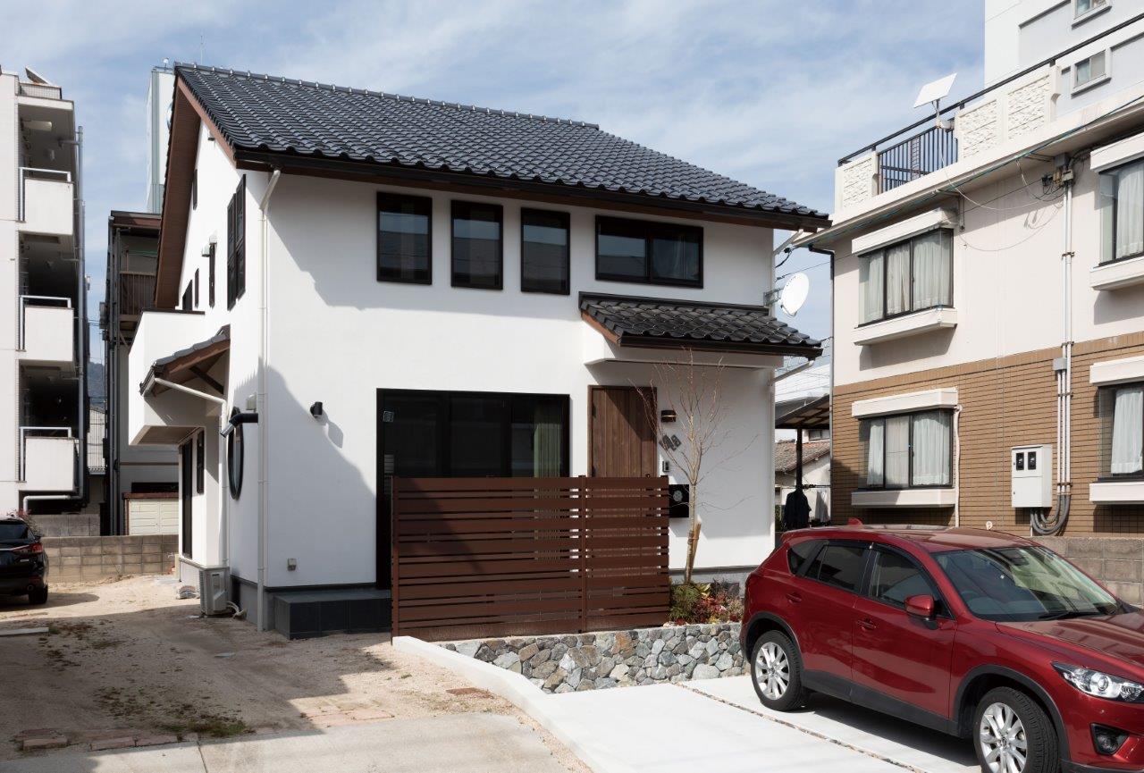 【和モダン】家族で日本の名城100を巡るSさん家族の土間のある和風の家