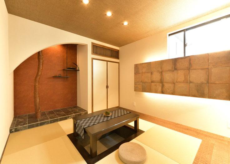 毎日の暮らしに癒しを。リゾートモダンの施工事例|広島の注文住宅|新築|工務店