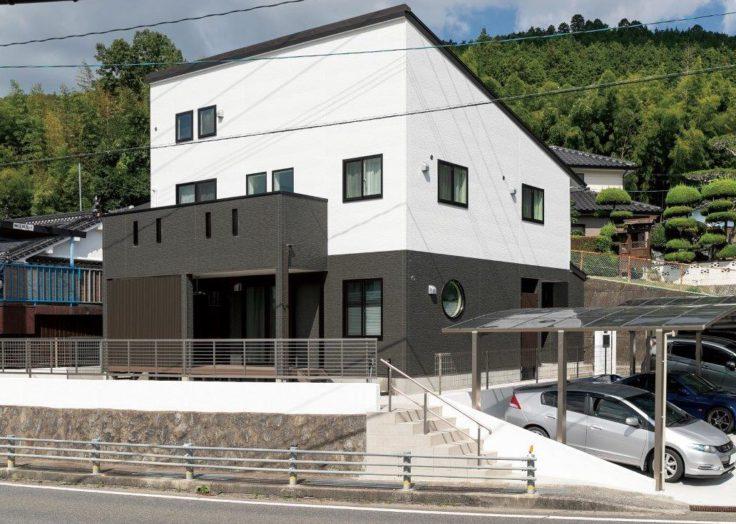 【デザインハウス】縦格子のある落ち着いた注文住宅