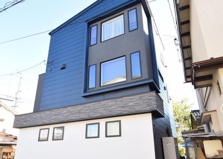 【デザインハウス】2階にリビングを設けた「デザインハウス×2世帯住宅」